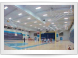 Gym & Basketball Lighting