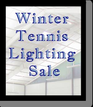 indoor tennis lighting fixture sale